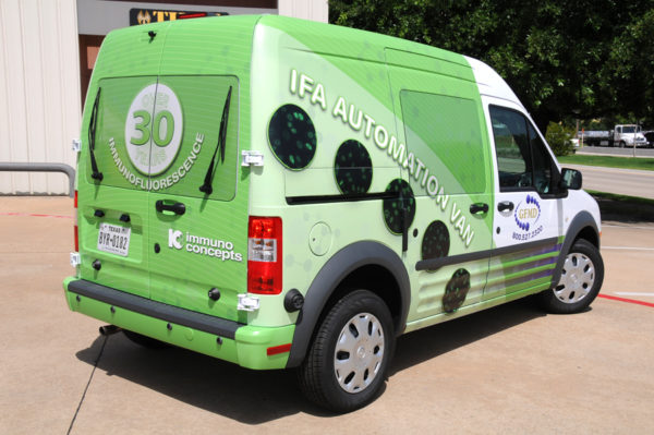 Vehicle Wrap – Delivery Van Wrap of GFMD