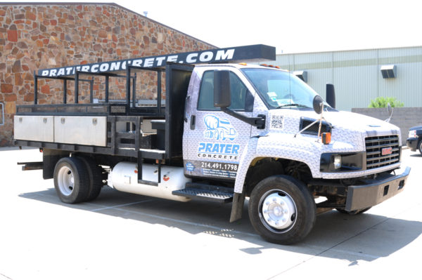 Vehicle Wrap – Truck Wrap of Prater