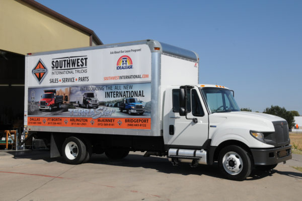 Vehicle Wrap – Trailer Wrap of Southwest International