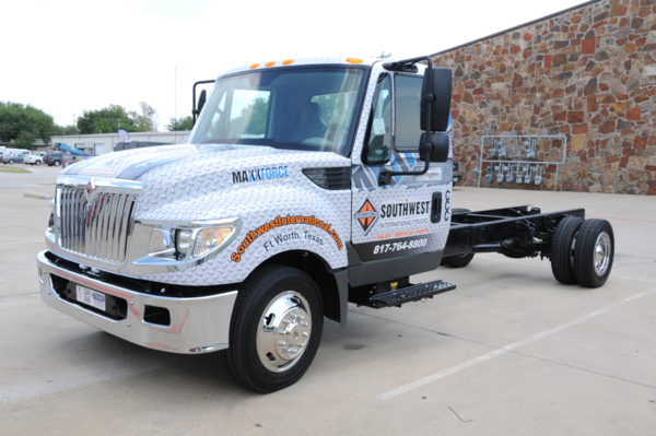 Vehicle Wrap – Truck Wrap of Southwest International
