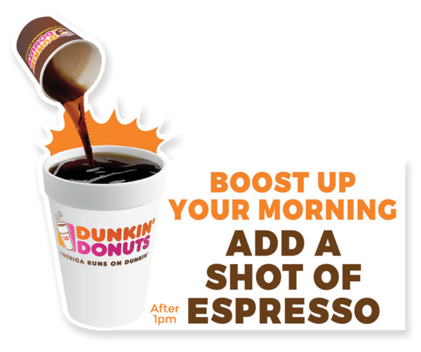 Signs – Cutout – Dunkin Donuts