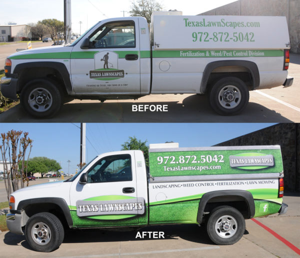Vehicle Wrap – Truck Wrap of Texas Lawnscape