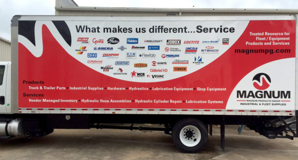 Vehicle Wrap – Fleet Wrap of Magnum